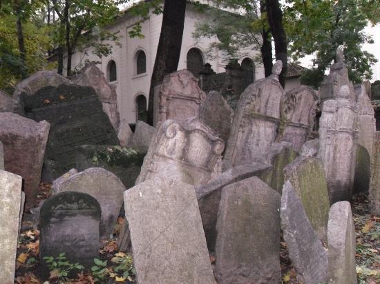 Old Jewish Cemetery: Lapidi