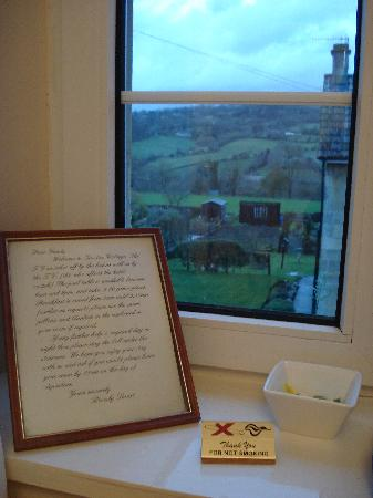 Garston Cottage: From the window of room 7