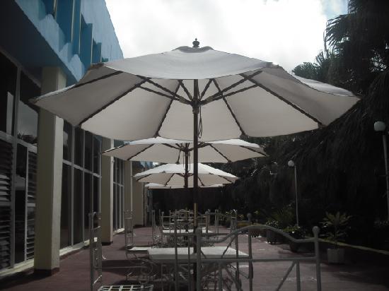 Hotel Tropicoco: Hotel patio