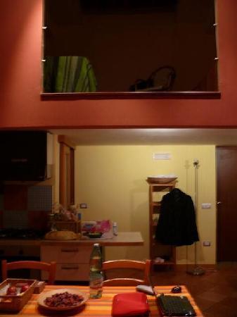 Miseria e Nobilta Bed and Breakfast: vista del soppalco