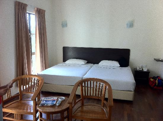 Bukit Gambang Resort City: Studio suite.