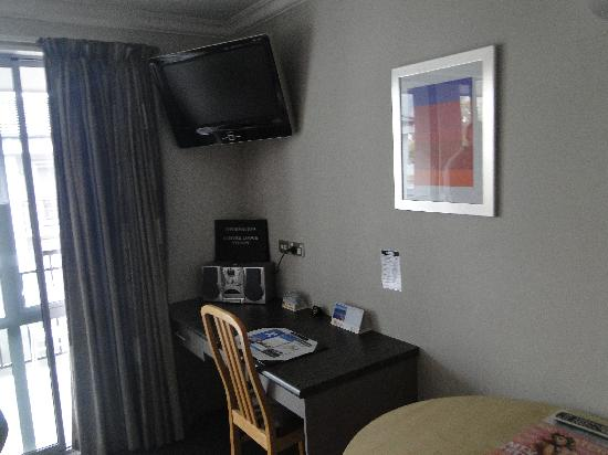 Quality Inn Nelson: LCD TV
