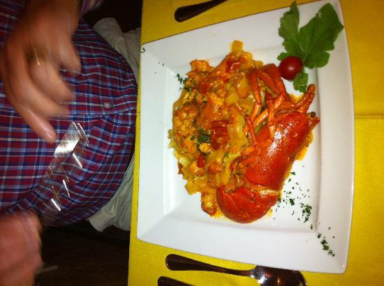 Restaurante Da Bruno a Cabopino : Lobster pasta
