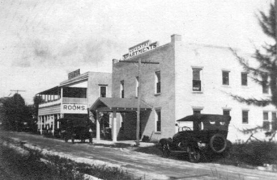 Old Colorado Inn: Historic hotel image 1920 stuart,fl