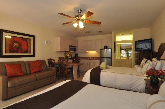 Tropical Beach Resorts : Full kitchens available in most rooms
