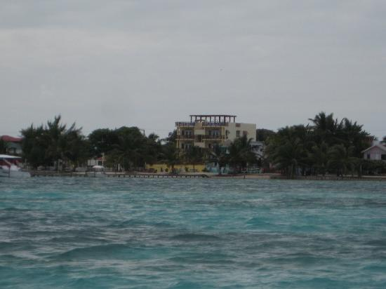 CayeReef from water