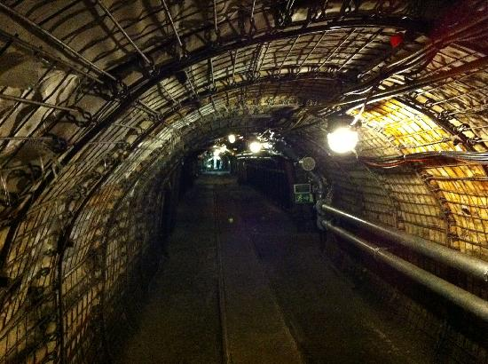 Bochum, Germany: Corridor reconstructed mine