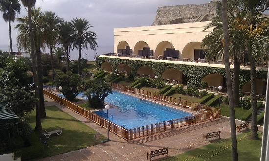 Parador de Ceuta : View from the bedroom!