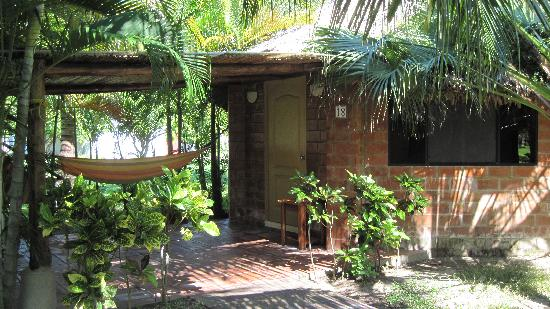 Las Hojas Resort & Club : The exterior of my bungalow.