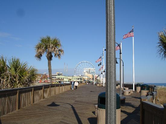 Myrtle Beach Boardwalk Promenade Sc