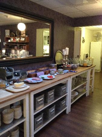 Goteborgs Vandrarhem : Breakfast Buffet