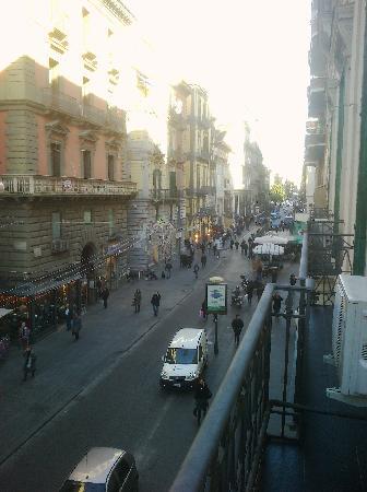 Hotel Principe Napolit'amo: dal balcone!!!!!!!!!