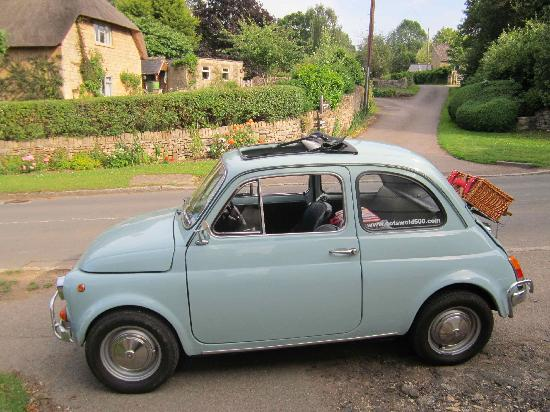 Cotswold 500, Classic Car Hire: WHAT A DOLL