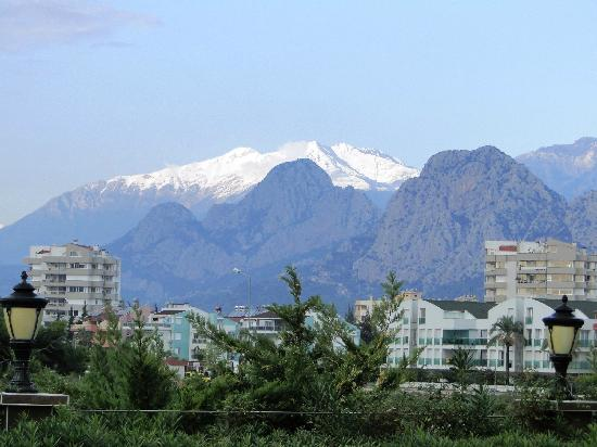 Crowne Plaza Hotel Antalya - view from the hotel