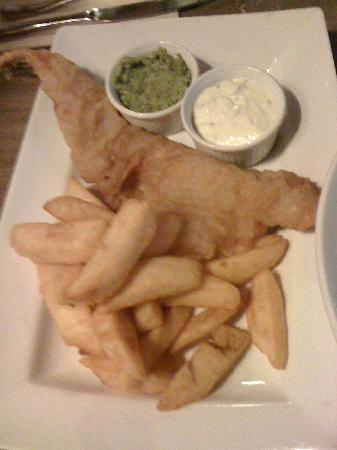 The Dove at Hammersmith: Fish and Chips