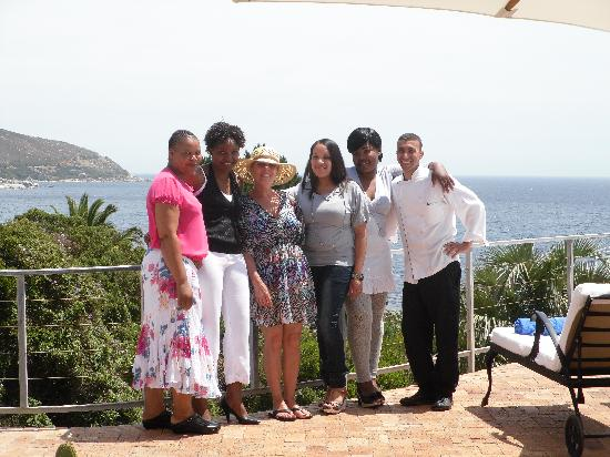 Ocean View House: Georgous staff ready for the Xmas party