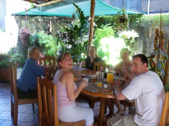 Coyaba Tropical Bed and Breakfast - Adults Only: ...and us enjoying being pampered!