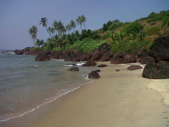 Khavane Beach - Beach view