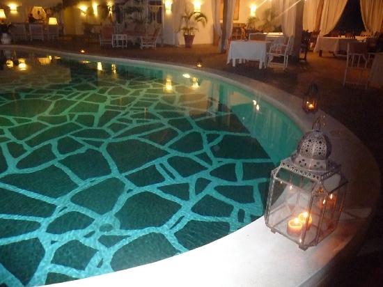 La Malindina: piscina