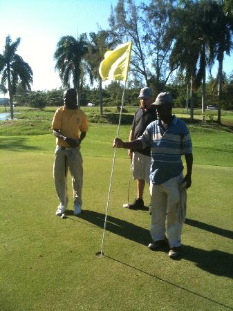 SuperClubs Ironshore Golf & Country Club: The Caddies they know their stuff
