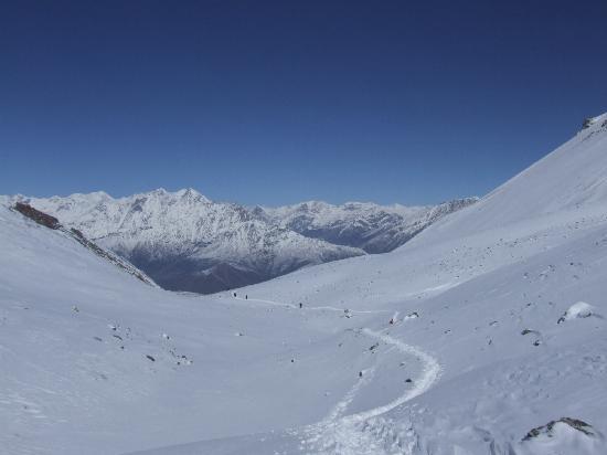 เนปาล: Highest pass of the world Nepal.