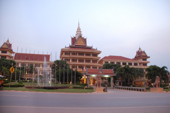 City Angkor Hotel: Hotel View