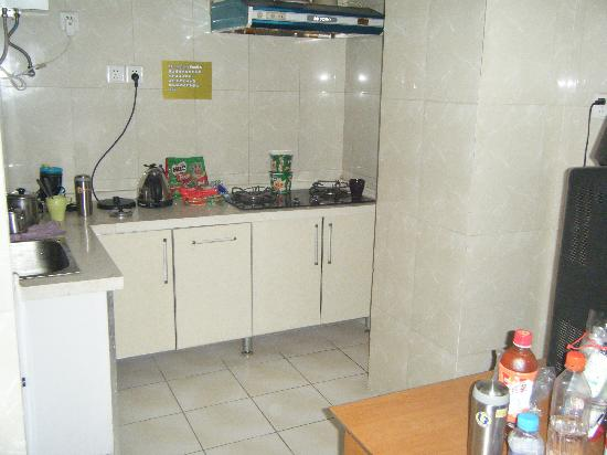 She Home: small kitchen in the room