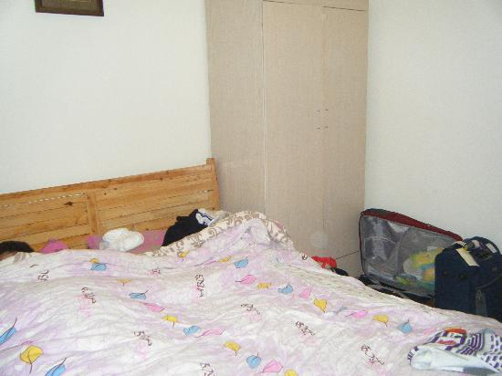 She Home: one of the double beds