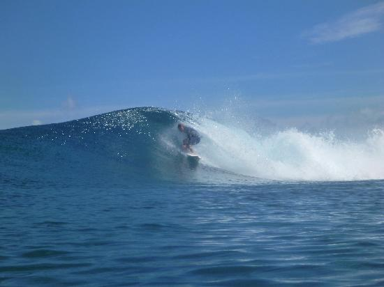 Ha'atafu Beach Resort: surf break