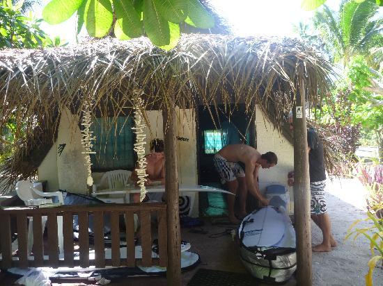 Ha'atafu Beach Resort: Fale
