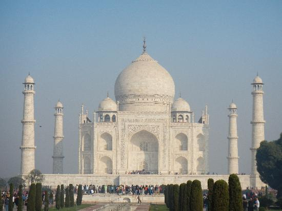 Taj Mahal: Inside View