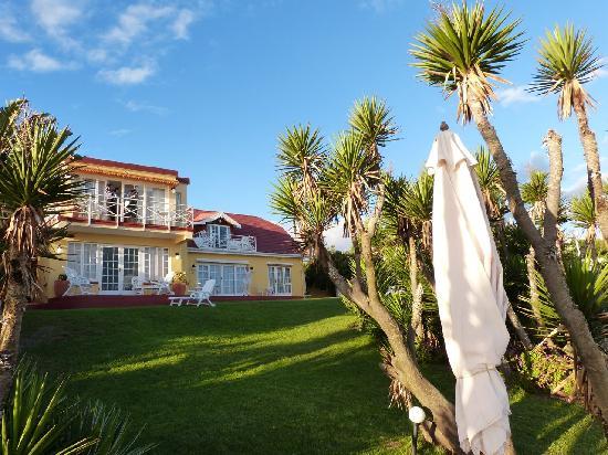 Haus am Strand - On the Beach: Das Haus, vom Meer her gesehen