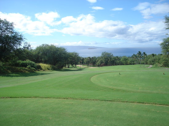 Wailea Golf Club: First Hole
