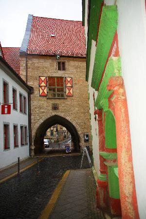 Brauhaus zum Loewen: Tor der Stadtmauer