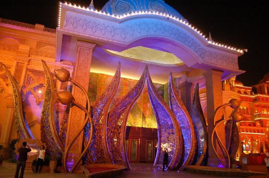 Gurgaon, Hindistan: Entrance to Culture Gully