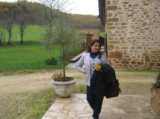 Domaine des Granges : El paisaje, las paredes, Yanett