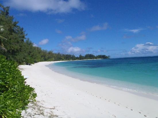 Denis Island, Seychellene: beach