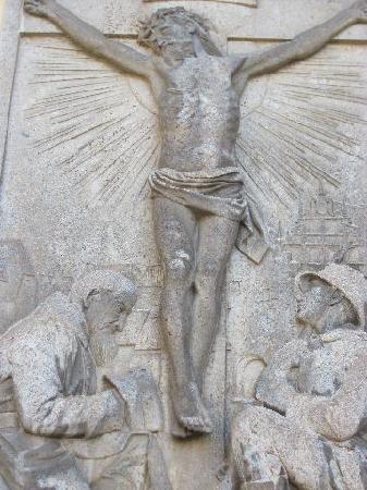 St. Sebastian: detail