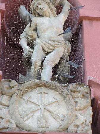 statue st. Sebastian