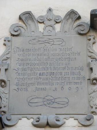 Rathaus: 1609