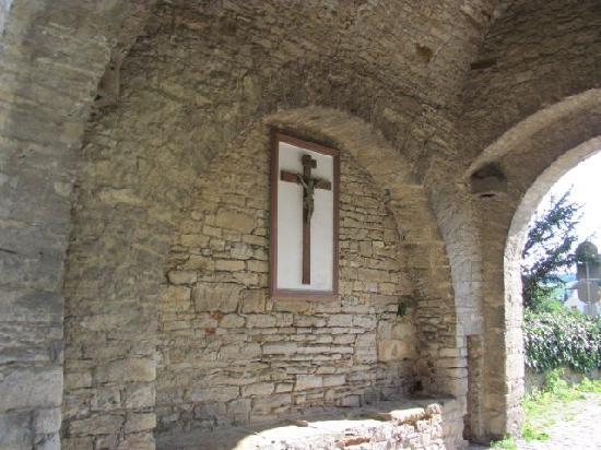 Erlacher Tor: inside the gate