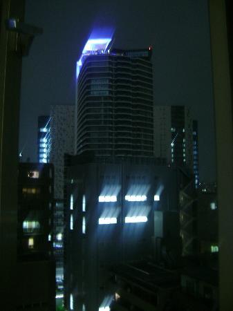 Hotel Sunlite Shinjuku: window view straight forward