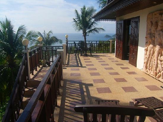 Koh Tao Star Villa : Penthouse terrace
