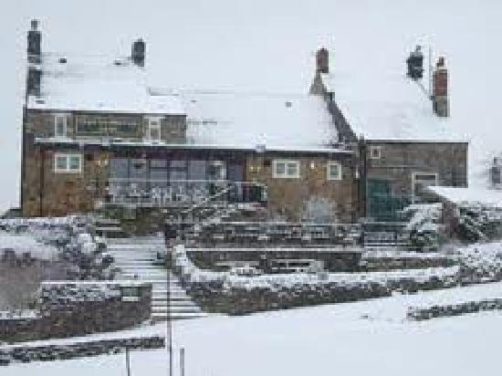 Derwentwater Arms: A winters scene