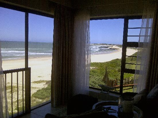 On the Beach Guesthouse, B&B, Suites: View from the bed in room 1