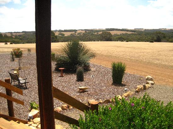 Eleanor River Homestead - Kangaroo Island: your own space- view from the porch