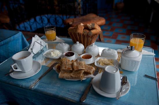 Dar Zman: Desayuno