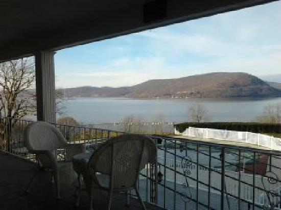 Inn on the Hudson: Beautiful view