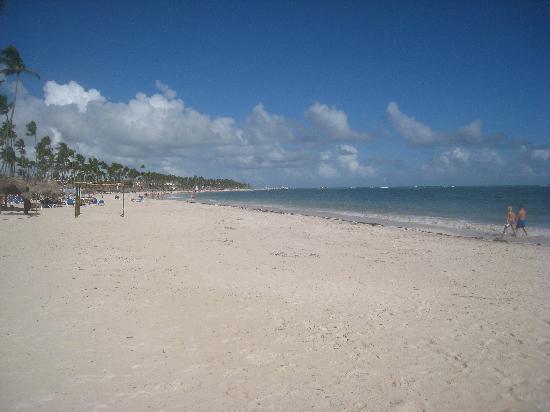 Meliá Caribe Tropical: Strand beim Melia Caribe