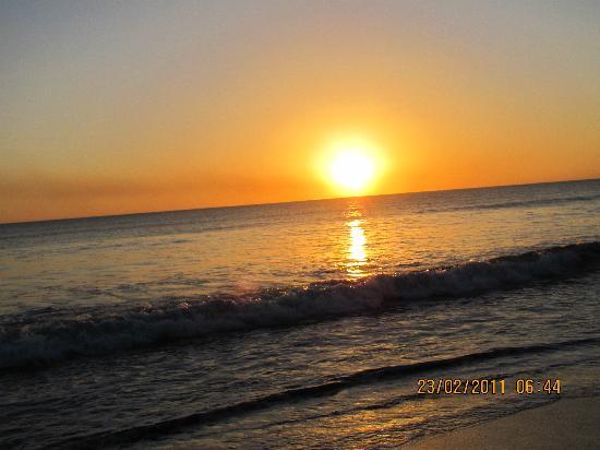 Managua, Nicaragua: Couché du soleil/Sun set
